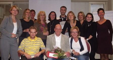 Alle deelnemers van de Basiscursus vertrouwenspersoon van Hubert Consult (dec. 2009)