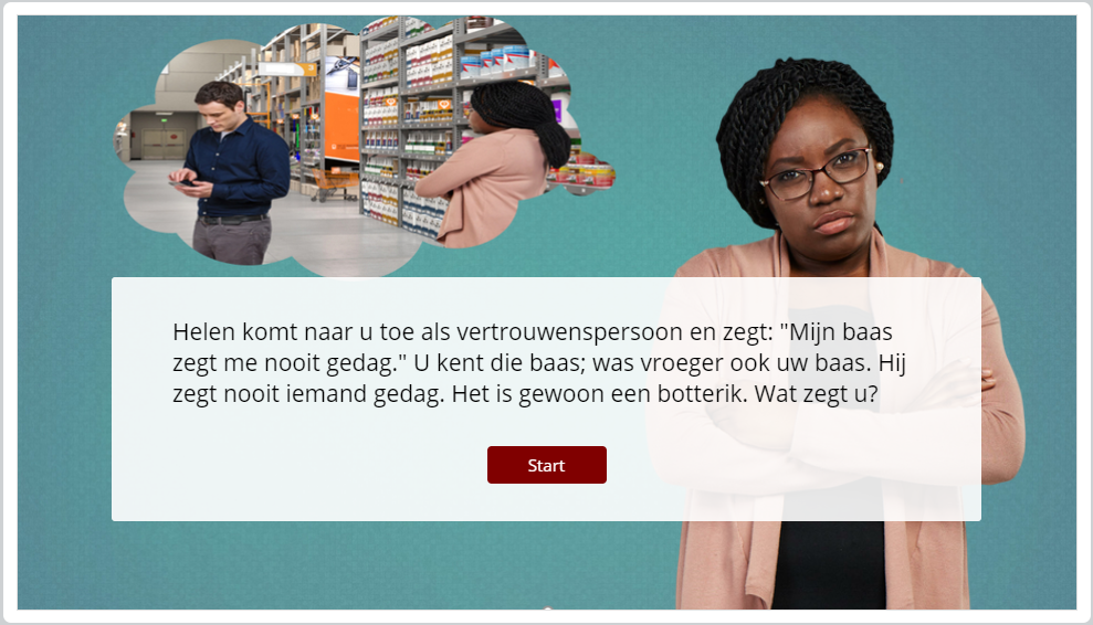 Cursus vertrouwenspersoon online / e-learning